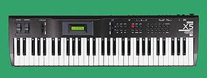 Istorija Korg Klavijatura X5_keyboard