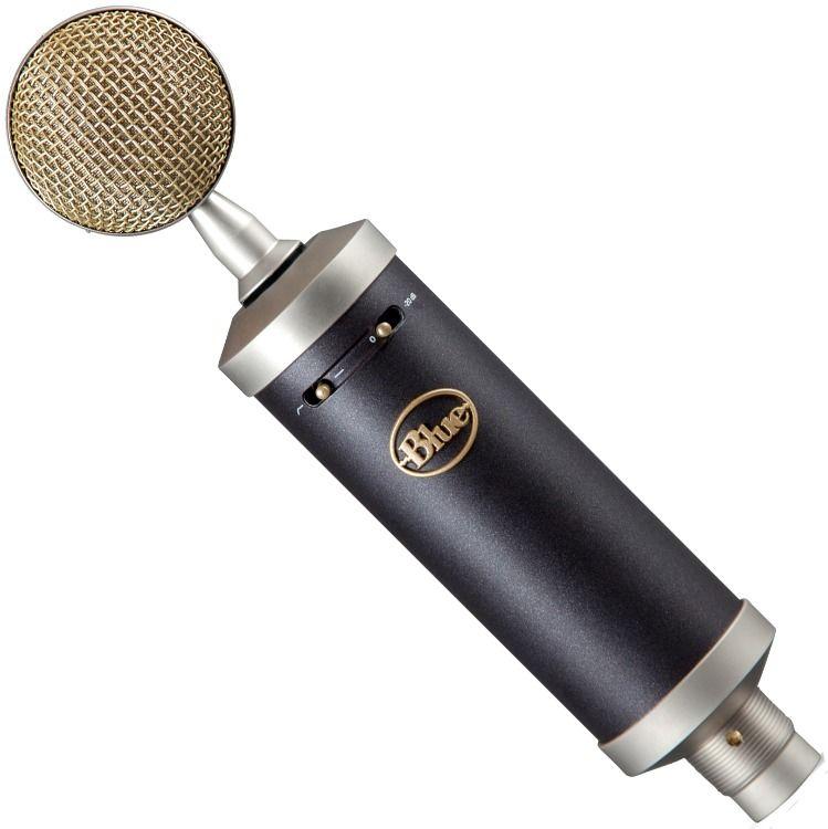 Blue Baby Bottle Studio Microphone W Shockmount Pop