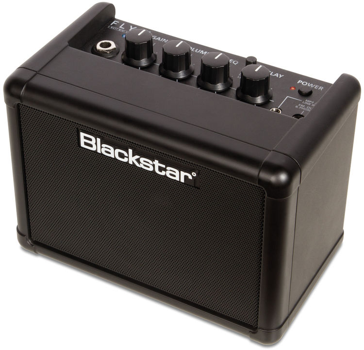 blackstar fly 3 blue 3 watt 1x3 guitar combo amp with bluetooth sweetwater. Black Bedroom Furniture Sets. Home Design Ideas