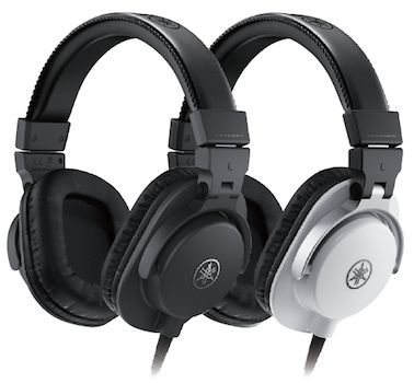 Yamaha hph mt5 over ear headphones black sweetwater for Yamaha hph mt5