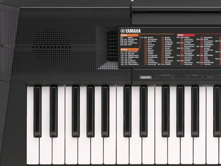 yamaha psr f51 61 key portable arranger sweetwater. Black Bedroom Furniture Sets. Home Design Ideas