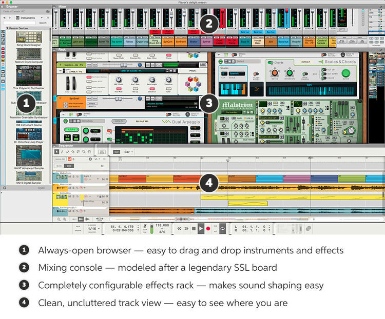 propellerhead reason 7 crack pc software