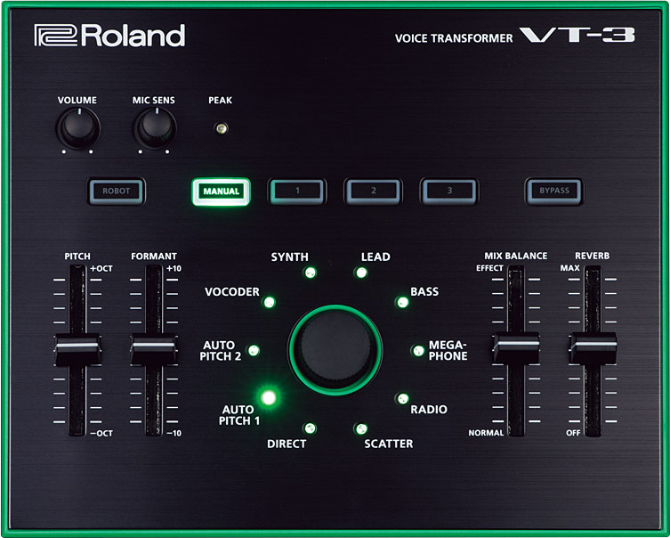Roland Vt 3 Voice Transformer Sweetwater