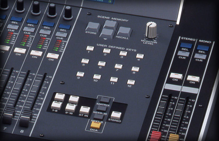 m7cl monitor fader assign