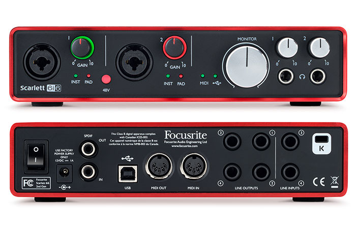 focusrite scarlett 6i6 manual pdf